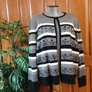 Alfred Dunner 2fer Sweater (XL)